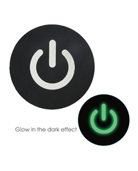 PASTIES GLOW IN THE DARK POWER BUTTON