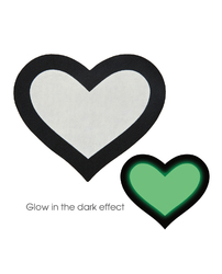 PASTIES GLOW IN THE DARK HEARTS