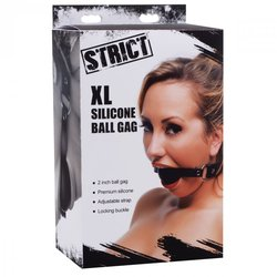 STRICT XL 2IN SILICONE BALL GAG