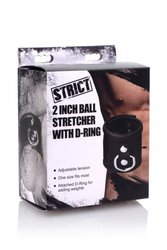 STRICT BALL STRETCHER W D-RING (OUT MID NOV)