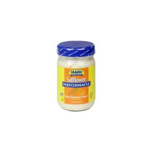 Hain Pure Foods Safflower Mayonnaise (12x12 Oz)