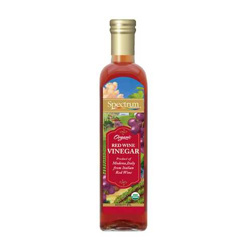 Spectrum Naturals Red Wine Vinegar (6x16.9 Oz)