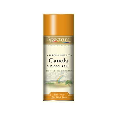 Spectrum Naturals High Heat Canola Skillet Spray ( 6x6 Oz)