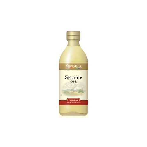 Spectrum Naturals Refined Sesame Oil (12x16 Oz)