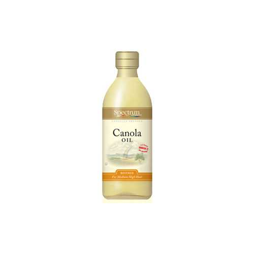 Spectrum Naturals Refined Canola Oil (12x32 Oz)