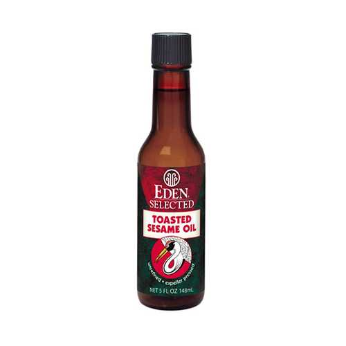 Eden Foods Toasted Sesame Oil ( 12x5 Oz)