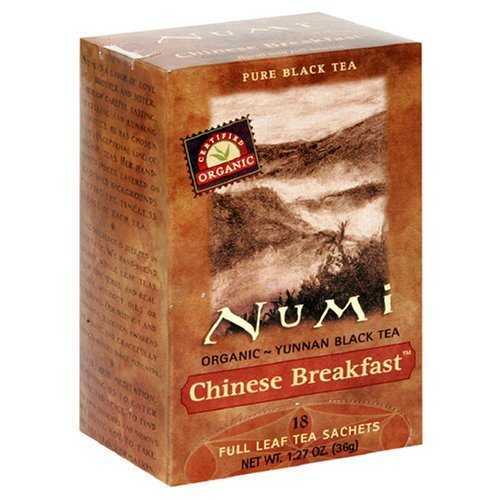 Numi Tea Chinese Breakfast Black Tea (6x18 Bag)