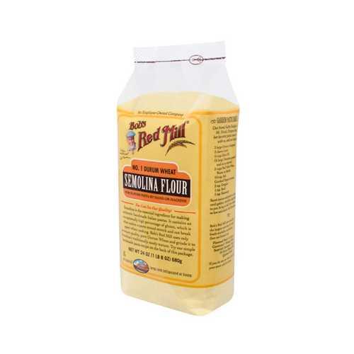 Bob's Semolina Pasta Flour ( 4x24 Oz)