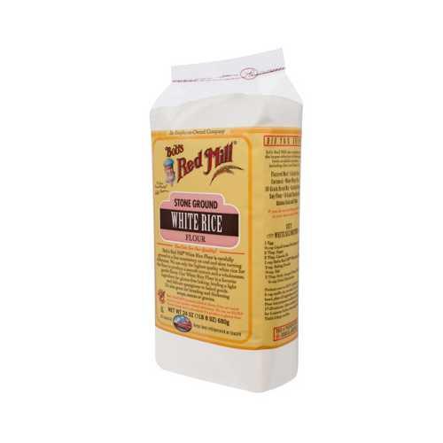 Bob's White Rice Flour Gluten Free ( 4x24 Oz)