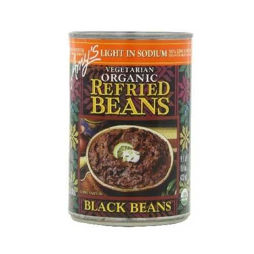 Amy's Kitchen Refried Black Beans Low Sodium (12x15.4 Oz)