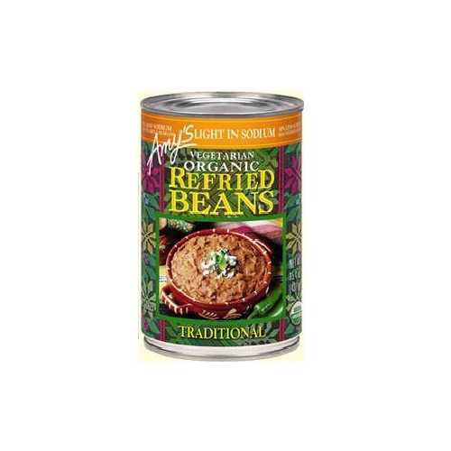 Amy's Kitchen Refried Traditional Beans Low Sodium (12x15.4 Oz)