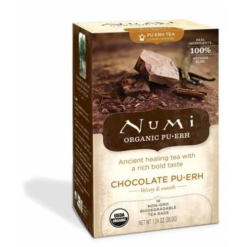 Numi Tea Chocolate Puerh Tea (6x16 Bag)