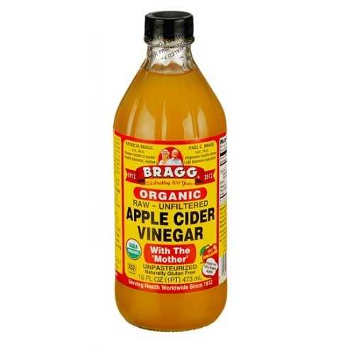 Bragg Liquid Aminos Org Raw Unsweetened Apple Cider Vinegar (12x16 Oz)