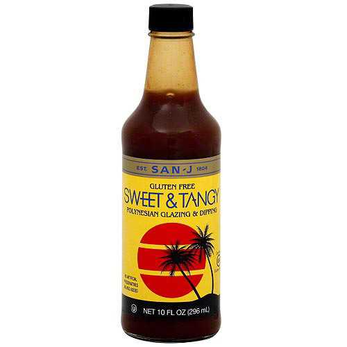 San-J Sweet & Tang Cooking Sauce (6x10 Oz)
