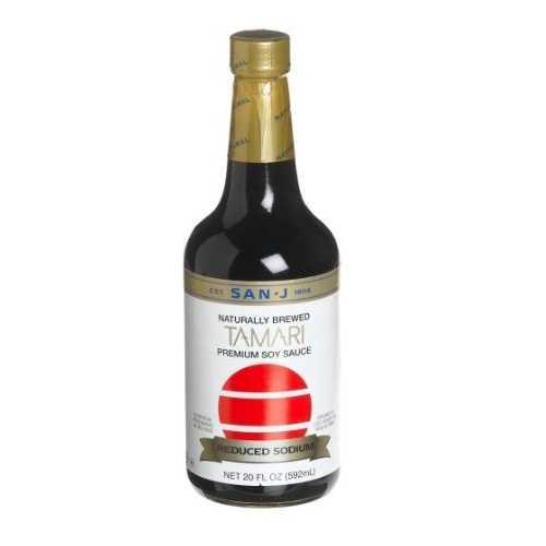 San-J Tamari White Label Reduced Sodium (6x10 Oz)