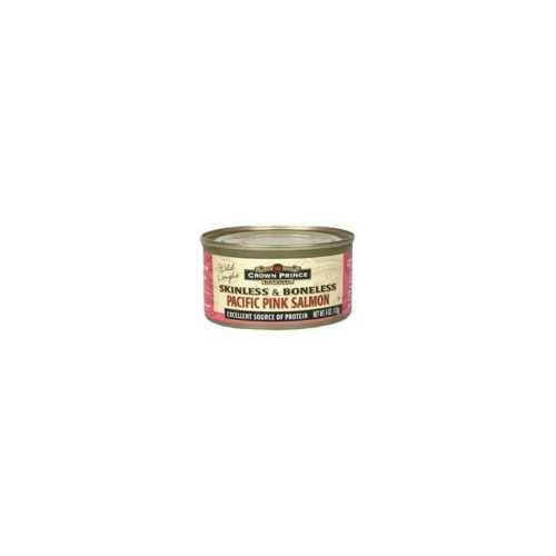 Crown Prince Pacific Pink Salmon Skinless Boneless (12x6 Oz)