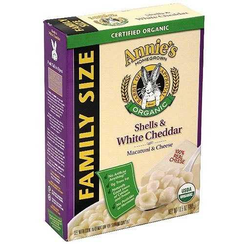Annie's Shells & Cheddar Family Size (6x10.5 Oz)