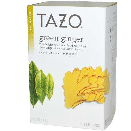 Tazo Tea Ginger Green Tea (6x20 Bag)
