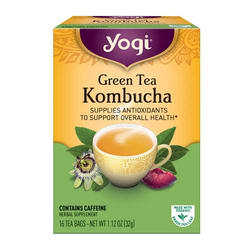 Yogi Green Kombucha Tea (6x16 Bag)