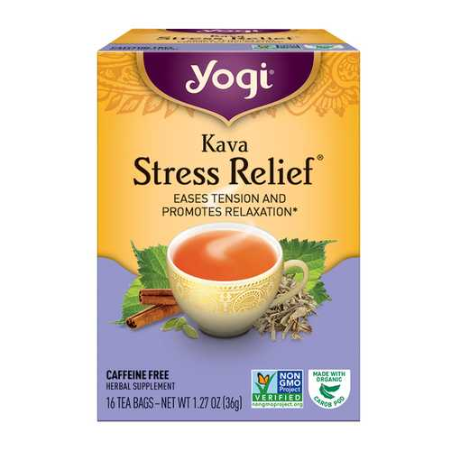 Yogi Kava Stress Relief Tea (6x16 Bag)