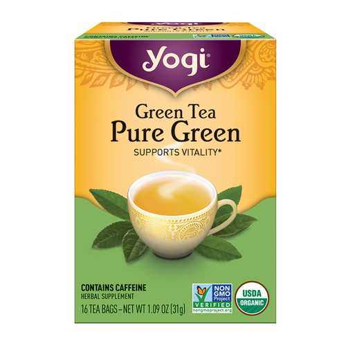 Yogi Simply Green Tea (6x16 Bag)