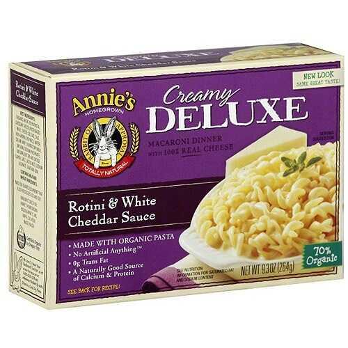 Annie's Deluxe Rotini & White Cheddar (12x9.3 Oz)