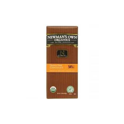 Newman's Own Orange Dark Chocolate Bar (12x3.25 Oz)