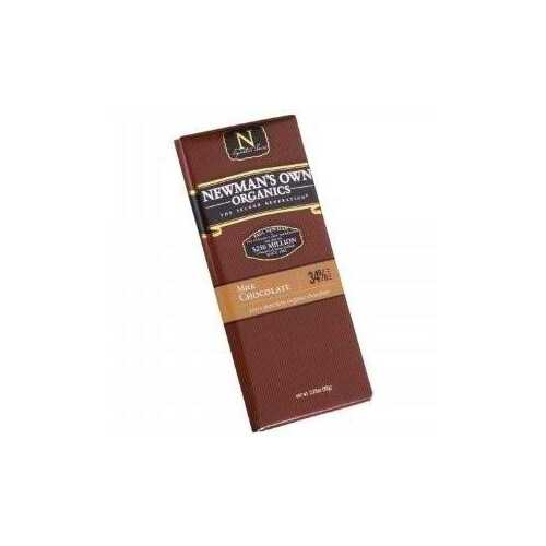 Newman's Own Milk Chocolate Bar (12x3.25 Oz)