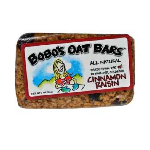 Bobo's Oat Bars All Natural Cinnamon Raisin Oat Bar (12x3 Oz)