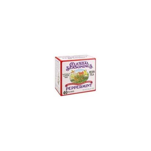 Celestial Seasonings Peppermint Herb Tea (6x40 Bag)