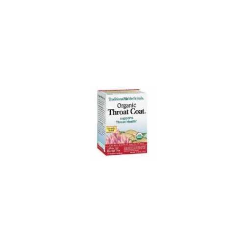 Traditional Medicinals Throat Coat Herb Tea (6x16 Bag)