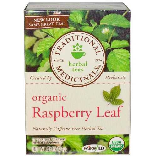 Traditional Medicinals Raspberry Leaf Tea (6x16 Bag)