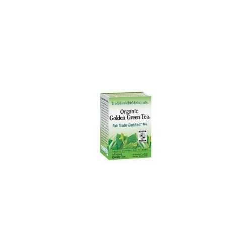 Traditional Medicinals Golden Green Herb Tea (6x16 Bag)