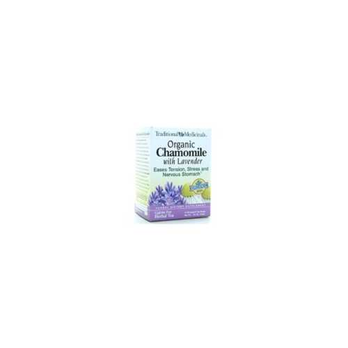 Traditional Medicinals Org Chamomile Classic Tea + Lavender (6x16 Bag)