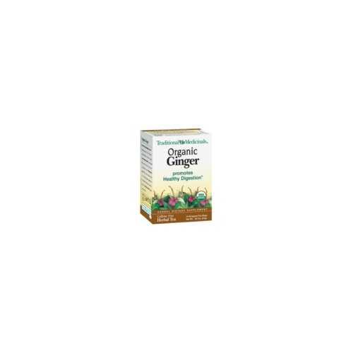 Traditional Medicinals Ginger Tea (6x16 Bag)