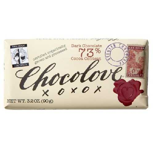 Chocolove Dark Chocolate Bar (12x3.2 Oz)