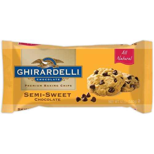 Ghirardelli Semi Sweet Chocolate Chips ( 12x12 Oz)
