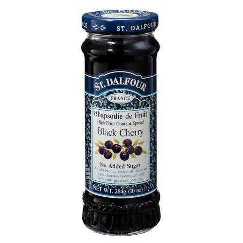 St. Dalfour Black Cherry 100% Fruit Conserve (6x10 Oz)