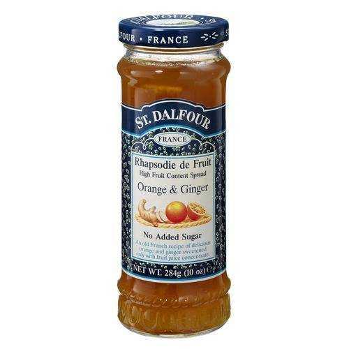 St. Dalfour Ginger Orange 100% Fruit Conserve (6x10 Oz)