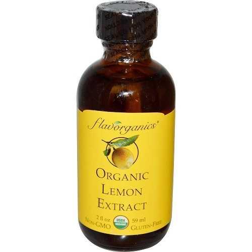 Flavorganics Lemon Extract (1x2 Oz)