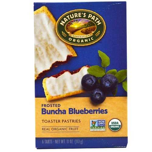 Nature's Path Frosted Blueberry Toaster Pastry (12x11 Oz)