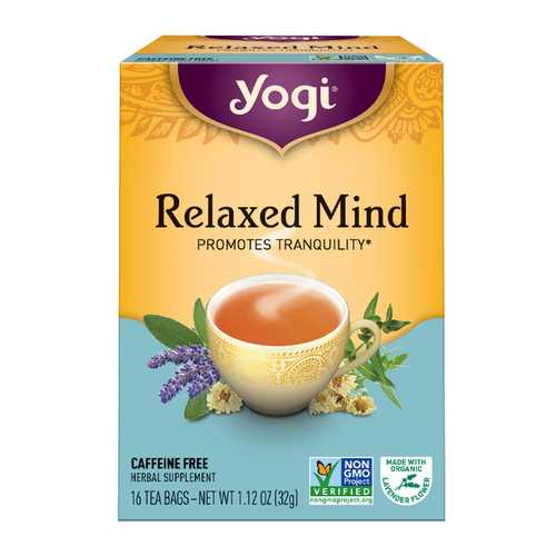 Yogi Meditative Time Tea (6x16 Bag)