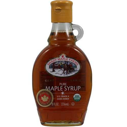 Shady Maple Farms Grade a Dark Maple Syrup Glass (12x8.0 Oz)