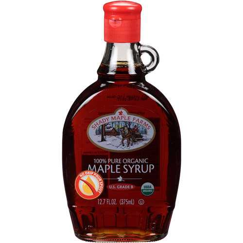 Shady Maple Farms Grade B Maple Syrup Glass (12x12.7 Oz)