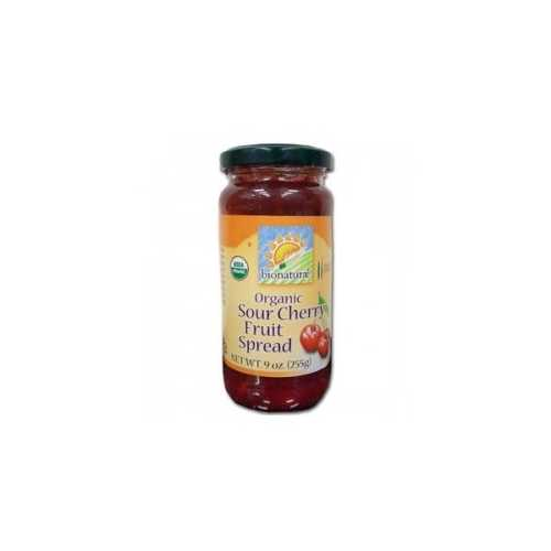 Bionaturae Sour Cherry Fruit Spread (12x9 Oz)