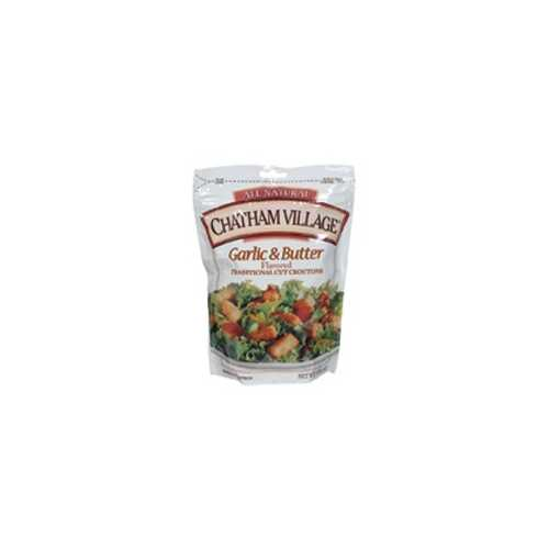 Chatham Village Garlic & Butter Croutons (12x5 Oz)