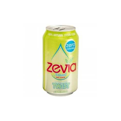 Zevia Natural Twist Diet Soda (4x6x12 Oz)
