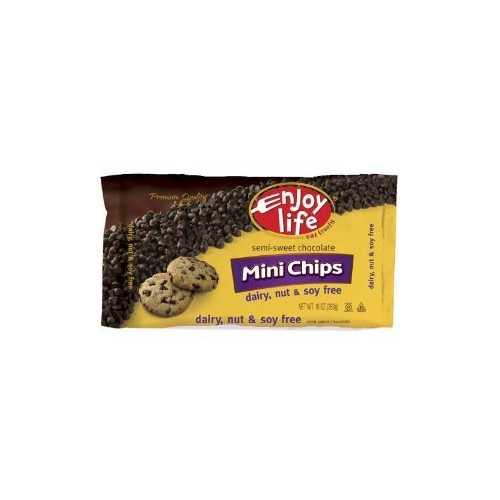 Enjoy Life Foods Semi-Sweet Chocolate Chips Gluten Free ( 12x10 Oz)