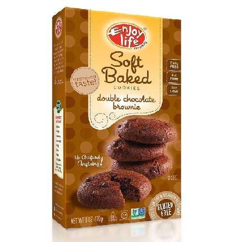 Enjoy Life Double Choc Brownie Cookie Gluten Free (6x6 Oz)
