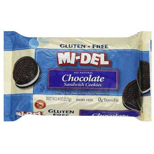 Mi-Del Chocolate Sandwich Cookies (12x8 Oz)